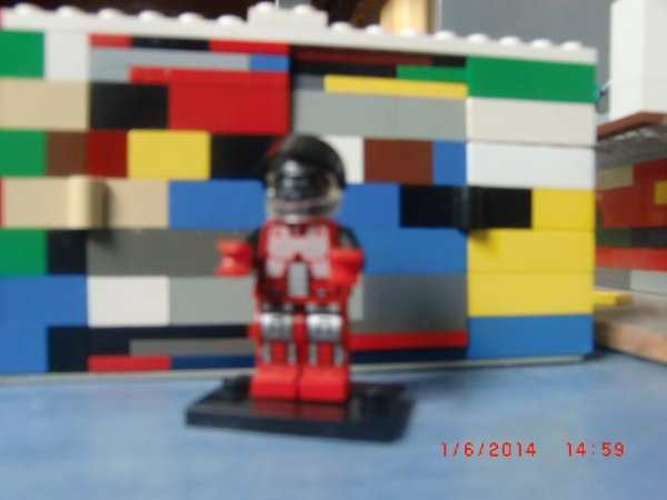 Mon Chef De Ma Ville Lego