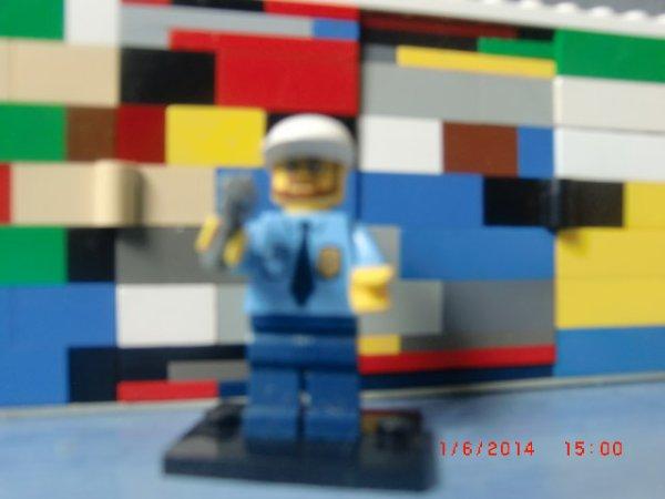 Mon Chef Policier De Ma Ville Lego