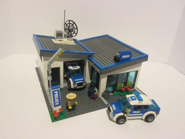 Commissariat De Police Lego