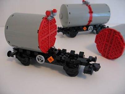 Wagon Citerne Lego