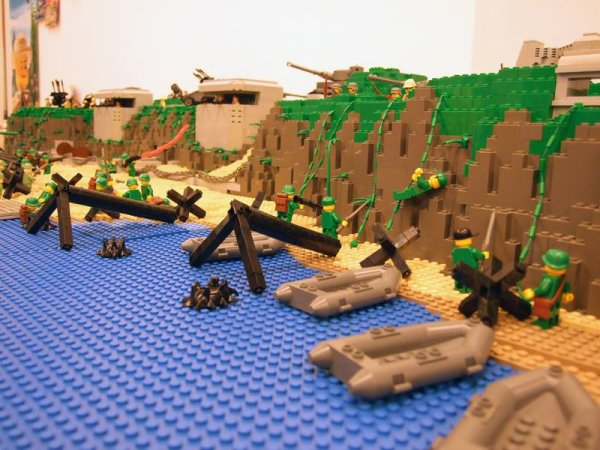 Bataille De Normandie Lego