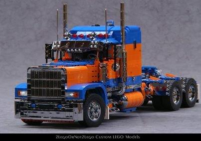 Camion Americain Lego
