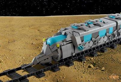 Train De La Lune Lego
