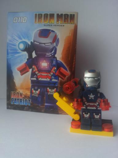 Série Iron Man minifigures - Marque DECOOL