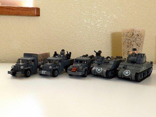 Véhicules De Armé En Lego