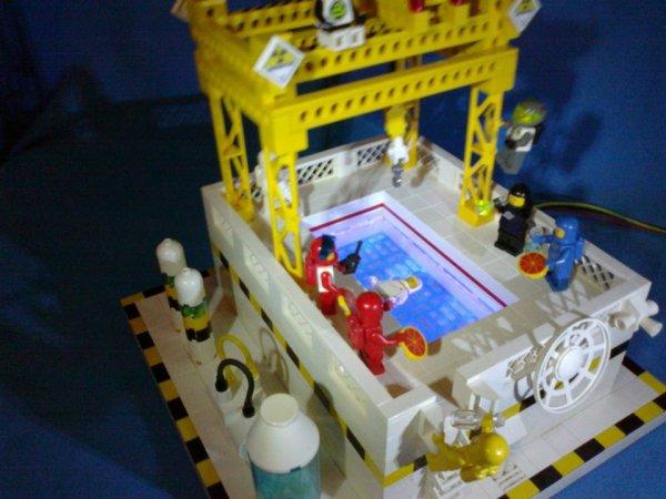 Picsine Lego Avec De La Vrai Eau