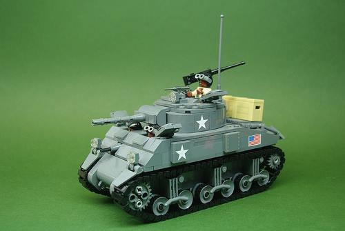 Jolie Tank Lego