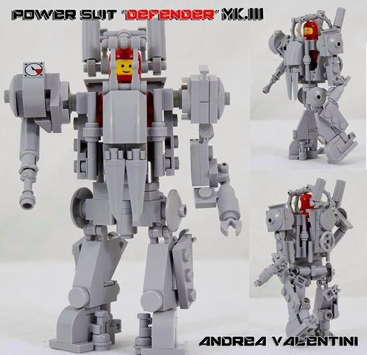 Robot De Espace Lego