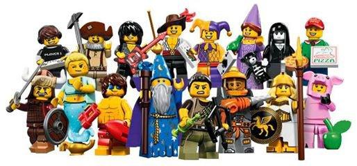 Nouvelle Minifigurine Lego Série 12
