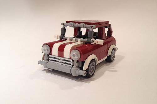 Mini Voiture Lego