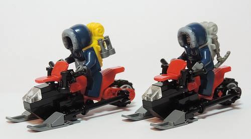 Scooter Des Neiges Lego