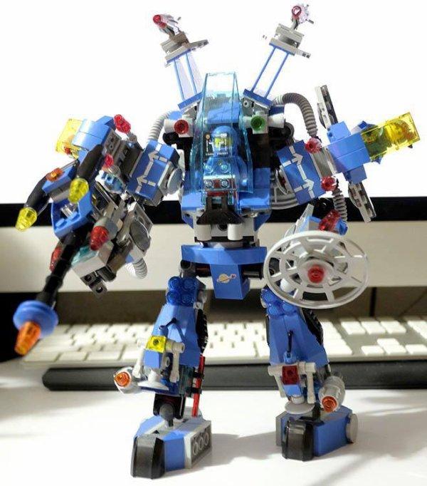 Robot Space Lego