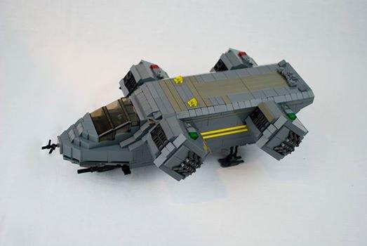 Avion Futuriste Lego