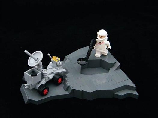 Sur La Lune En Lego