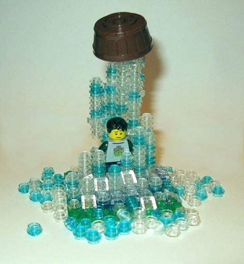 Ice Bucket Challenge Lego