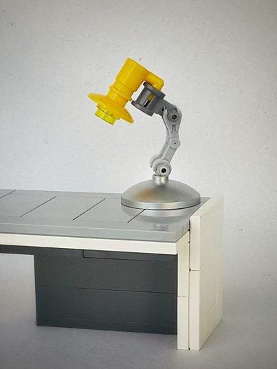 Lampe De Bureau En Lego