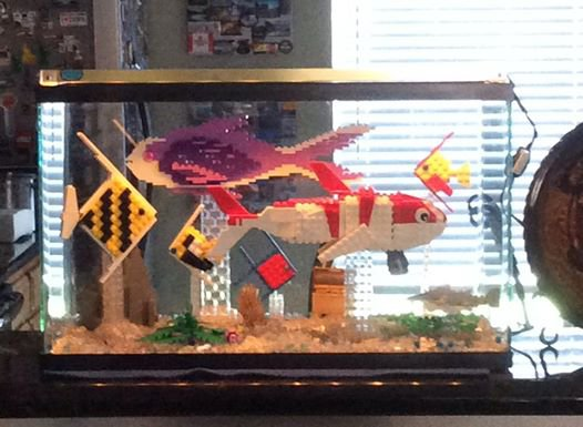 Aquarium De Poisson Lego