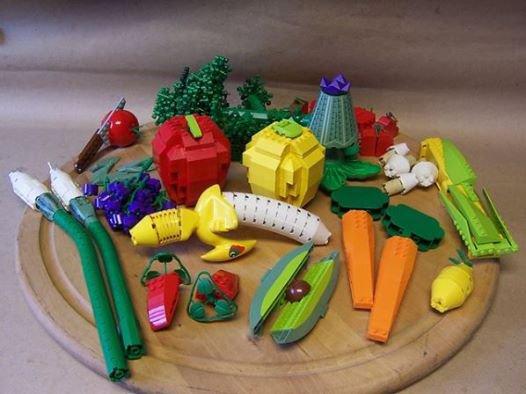 Fruit Et Legume En Lego