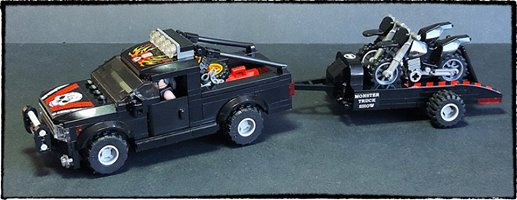 Belle Voiture Pour Transporter Des Moto Lego