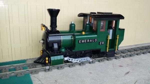 Locomotive à Vapeur Lego