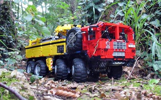 Camion Tout Terrain Lego
