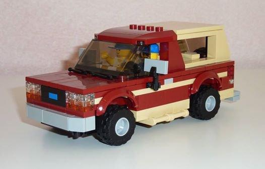 4X4 Lego