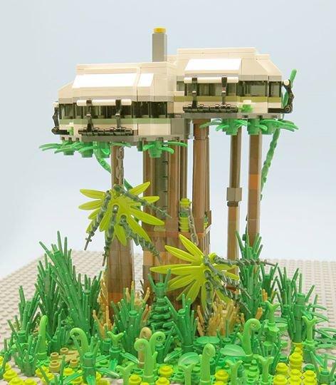 Maison Percher Lego