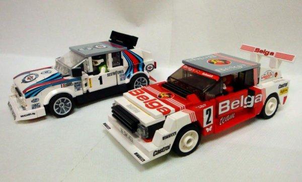 Voiture De Rally Lego