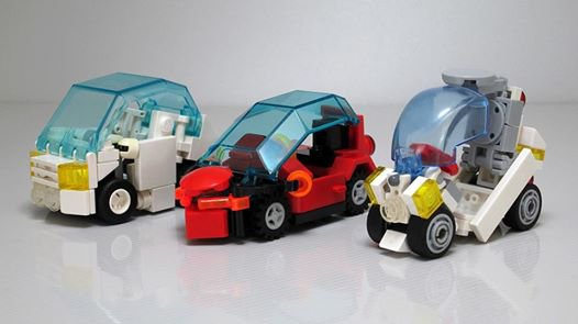 Voiture Futuriste Lego