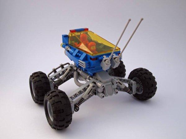 Voiture De Espace Lego