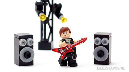 Rock Star Lego