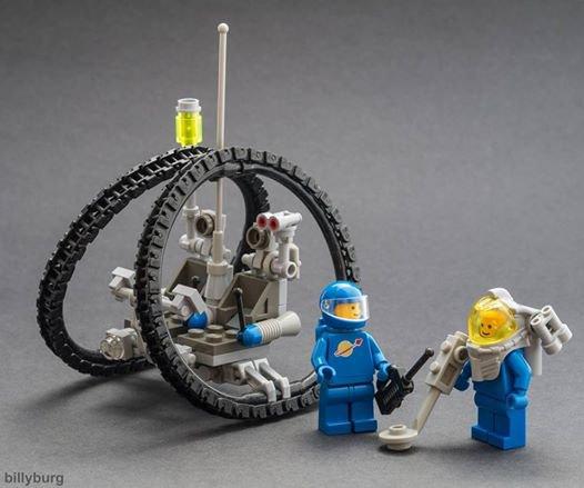 Voiture Pour Aller Sur Mars En Lego