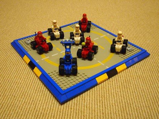 Petite Voiture De Espace Lego
