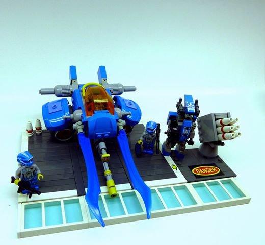 Petit Vaisseau Lego