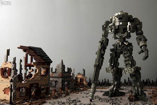 Robot Géant Lego