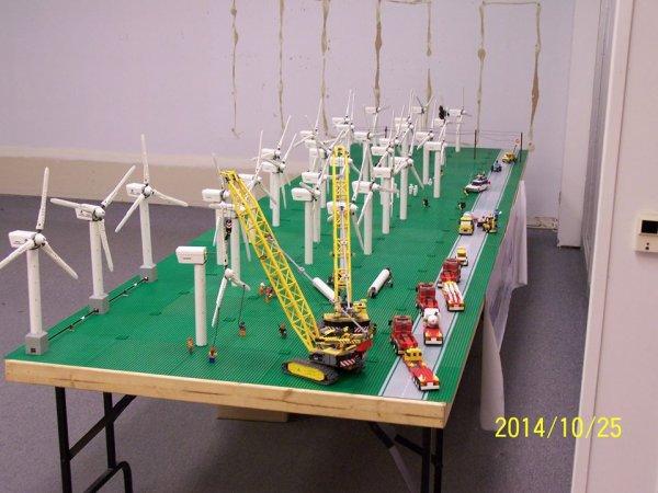 Champs D'éolienne Lego