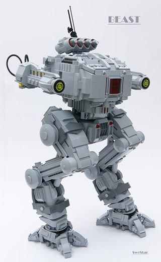 Robot Qui Et Armer En Lego