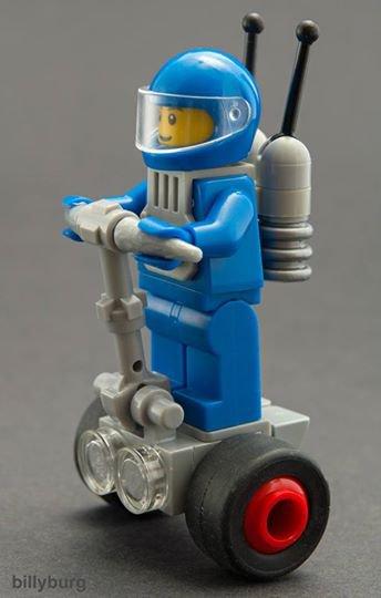 Véhicule De Espace En Lego