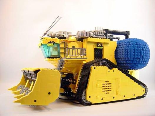 Broyeur Lego
