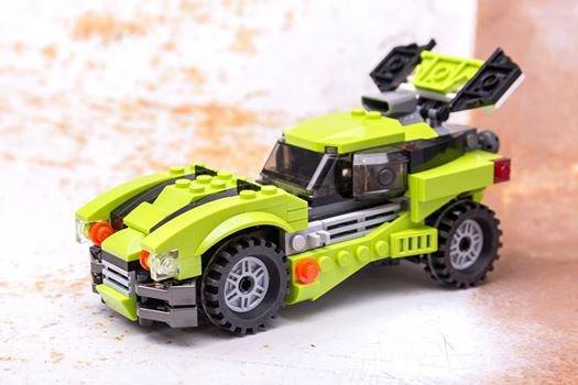 Voiture Tuning En Lego