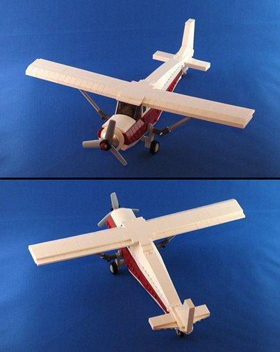 Petit Avion En Lego