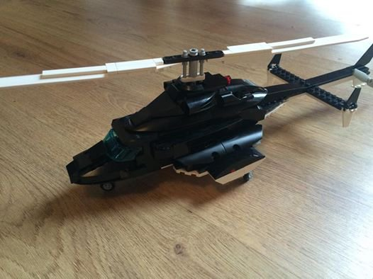 Helicopter En Lego