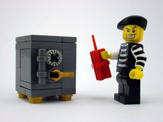 Coffret Fort En Lego