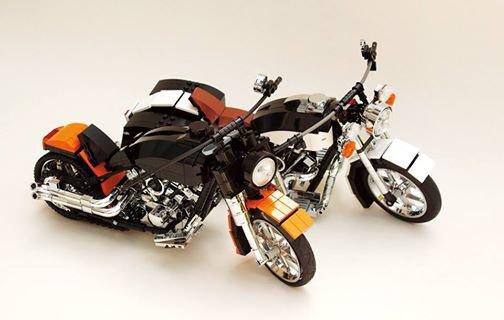 Deux Moto Lego