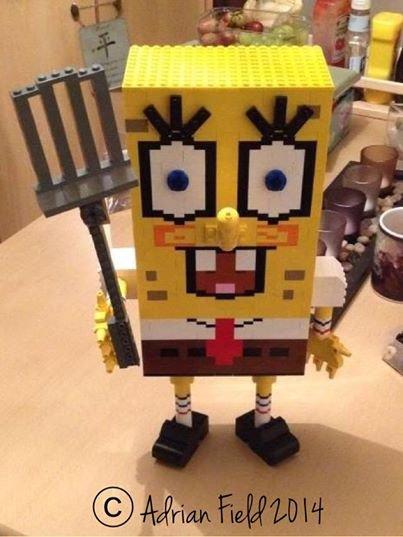 Bob Éponge En Lego