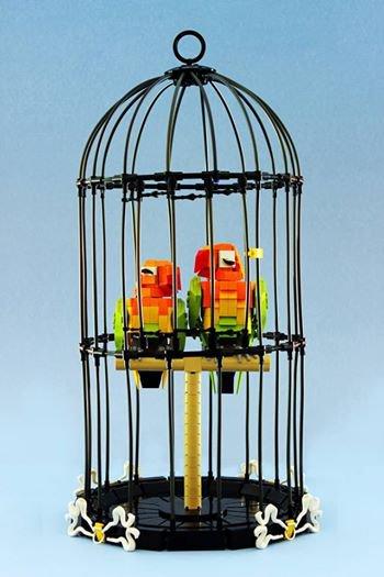 Oiseaux Lego