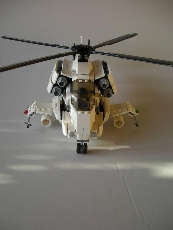 Hélicoptère De L'armée En Lego