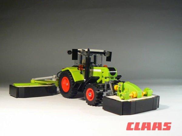 Tracteur CLAAS En Lego