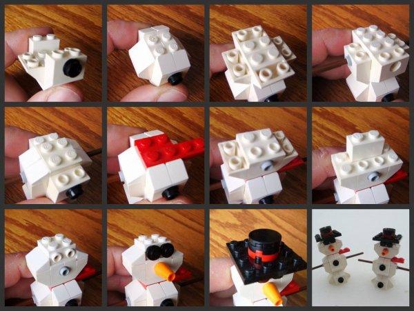 Plan De Bonhomme De Neige En Lego
