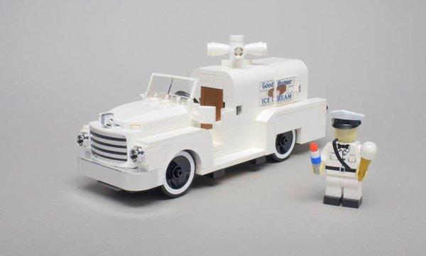 Camion De Glace Lego